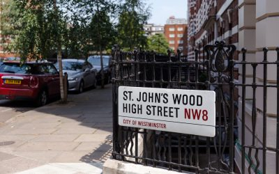 St Johns Wood a London urban residential district with pop culture and flair