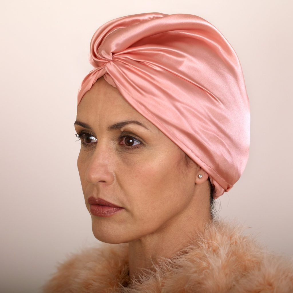 ROSE Holistic Silk Pure Silk Hair Turban