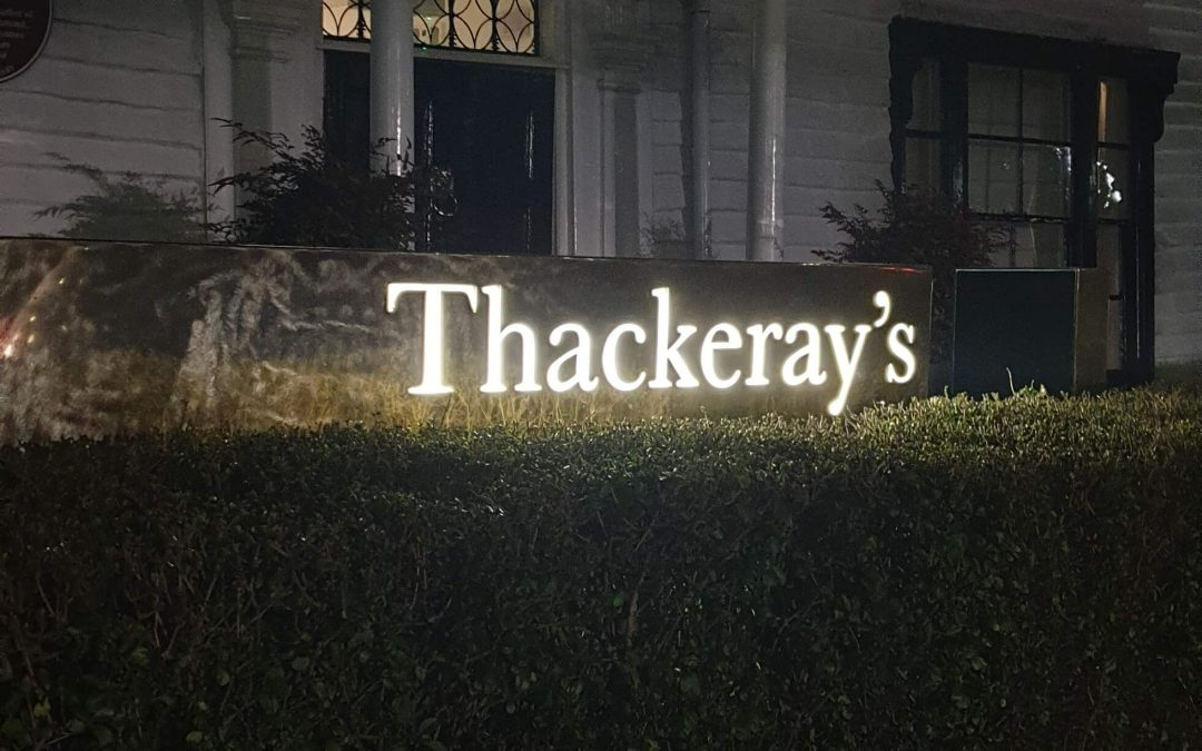 Fine Dining at Thackeray's with honesty at its core! A Gem, in the heart of Royal Tunbridge Wells
