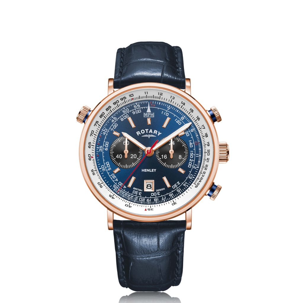 Rotary Henley Rose Gold PVD Watch