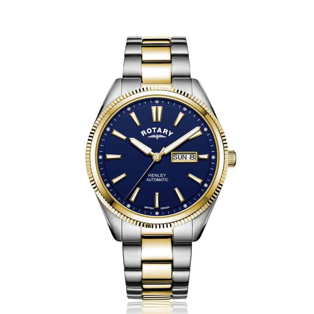 Rotary Henley Two Tone Gold PVD Automatic Watch