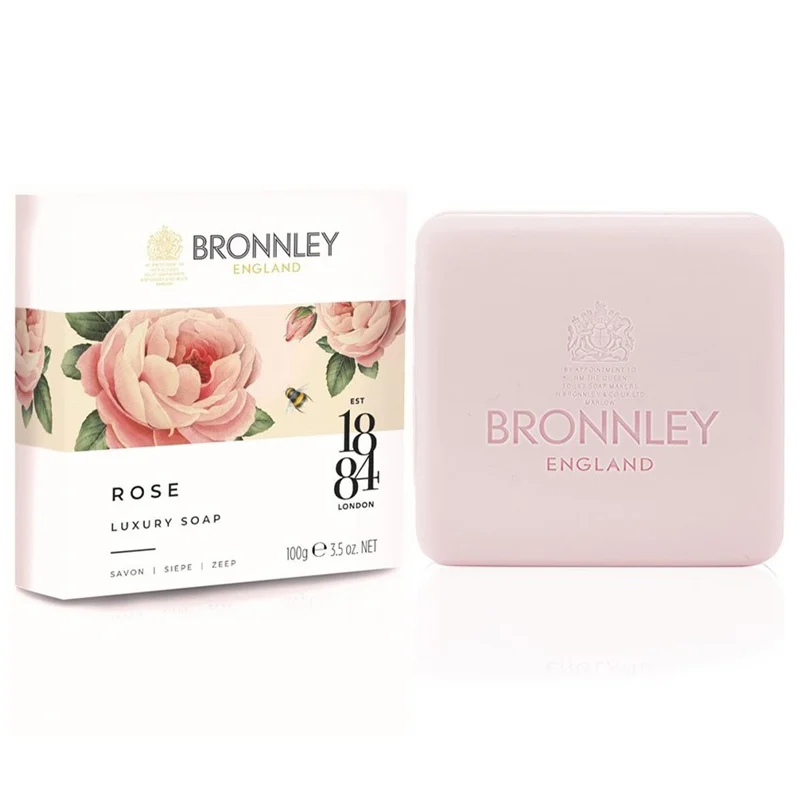 Bronnley Rose Triple Milled Soap