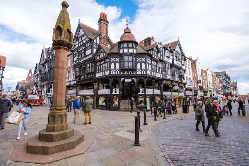 The romantic weekender (Chester)