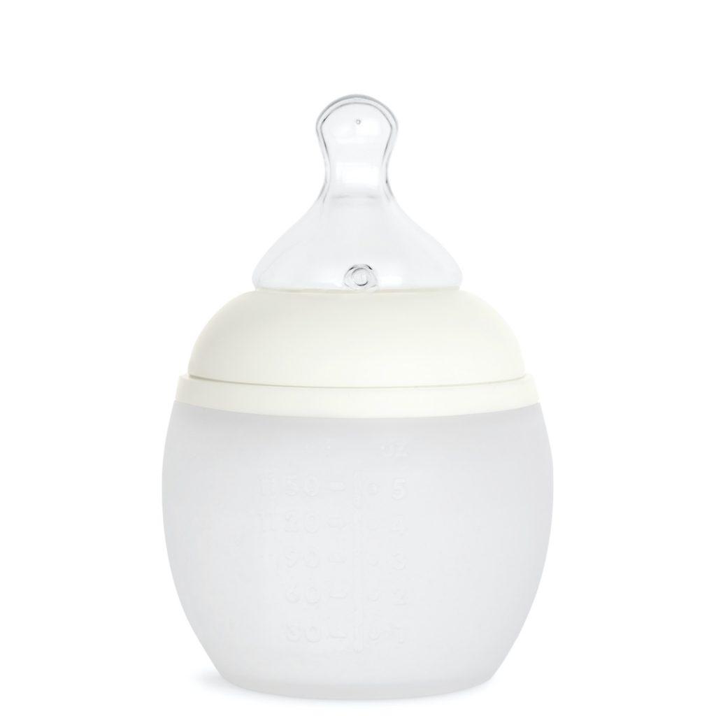 Élhée Natural Rounded Baby Bottle Blanc Milk