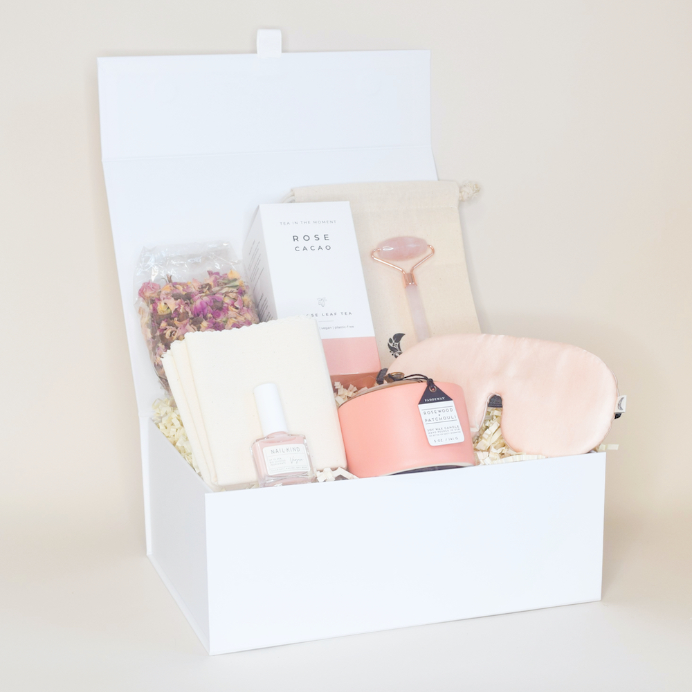 Amala Curations Pretty in Pink Deluxe Box