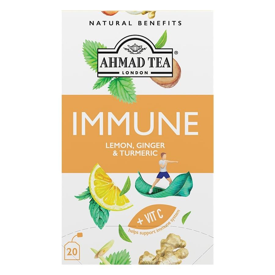 Ahmad Tea Immune Lemon, Ginger & Turmeric