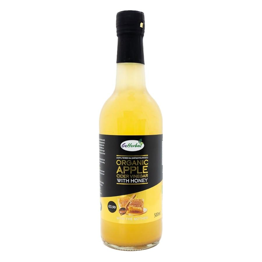 Go Herbal Organic Apple Cider Vinegar with Honey