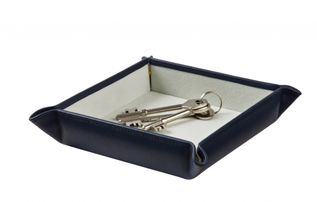 Stow Leather Valet Tray