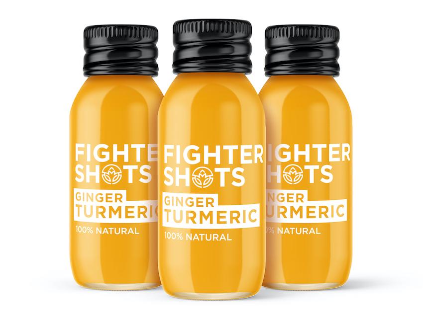 Fighter Shots Ginger and Turmeric